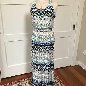 Tribal summer maxi dress